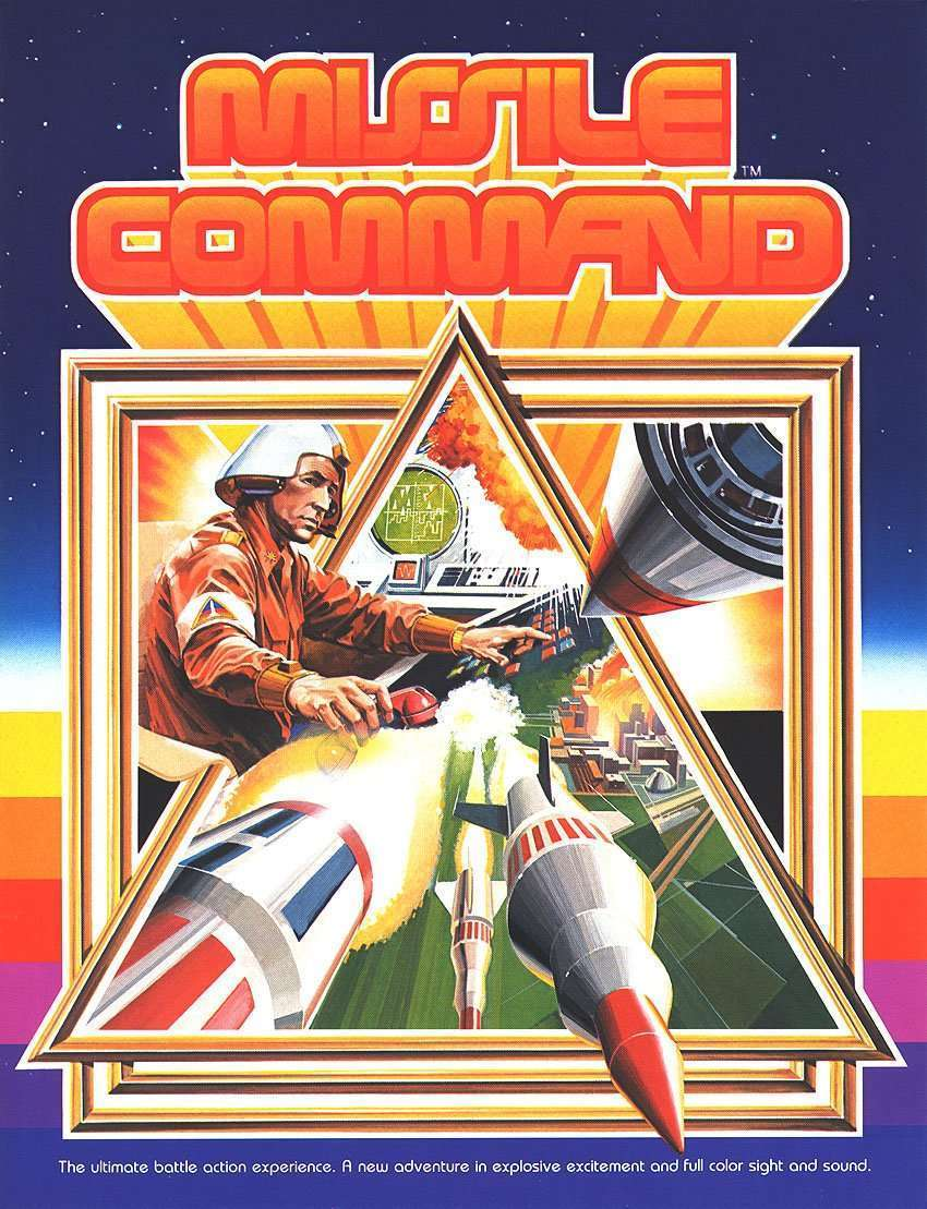 New in the Arcade: Missile Command