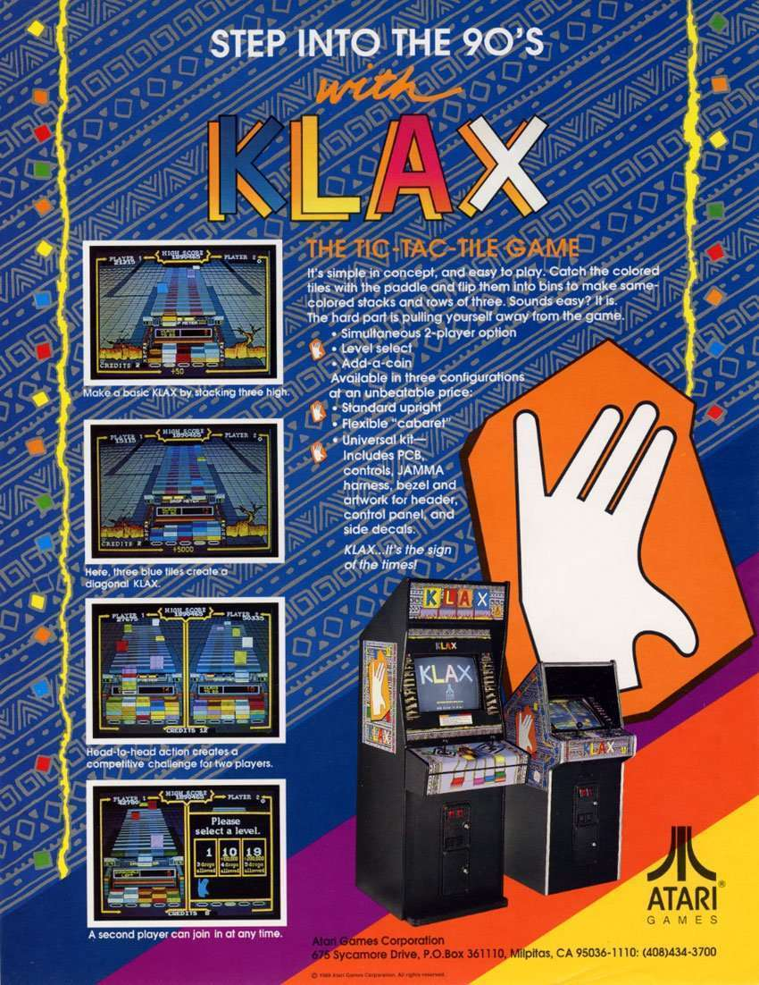 Image for Raiders of the Lost Arcade: KLAX