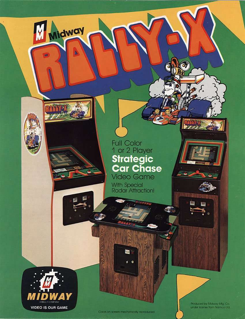 Raiders of the Lost Arcade: Rally-X