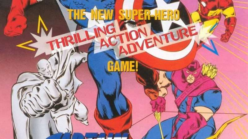Image for New in the Arcade – Captain America and The Avengers