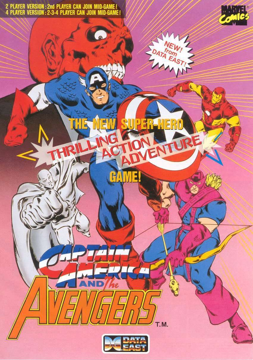 New in the Arcade – Captain America and The Avengers