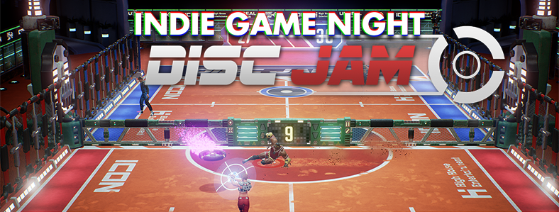 Indie Game Night: Disc Jam – Thursday 3/30, 7pm