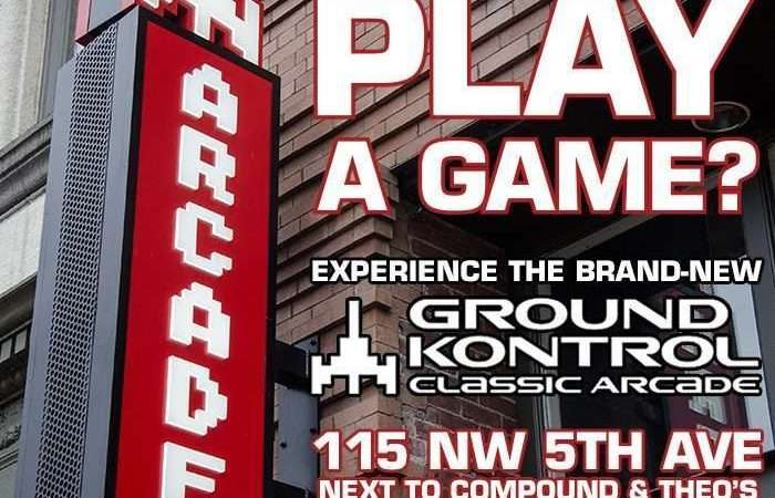 Image for Shall We Play A Game? Experience the New Ground Kontrol – Wednesday 4/12, 5pm