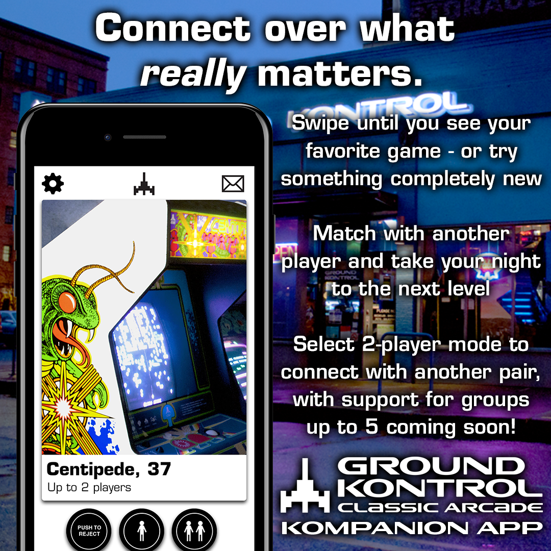 Available Now: The Ground Kontrol Kompanion App!