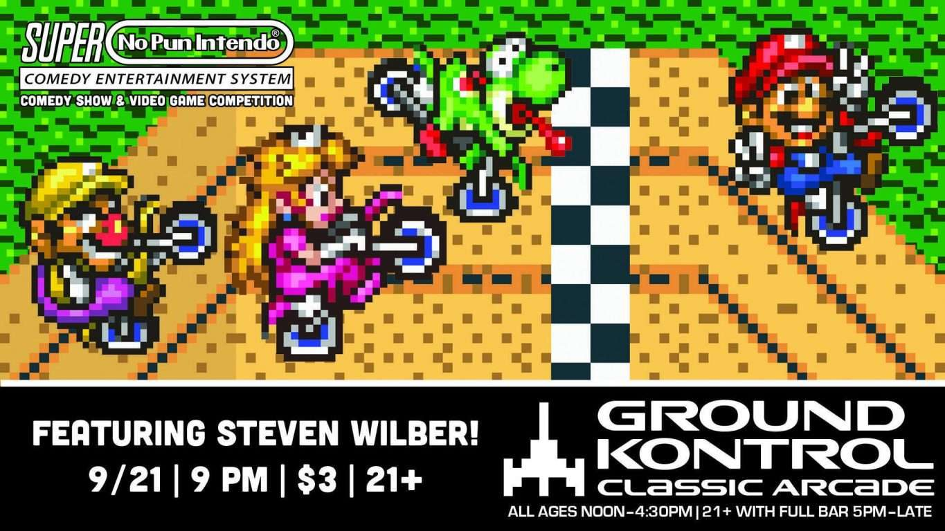 No Pun Intendo - Stand-Up Comedy Night featuring Steven Wilber!