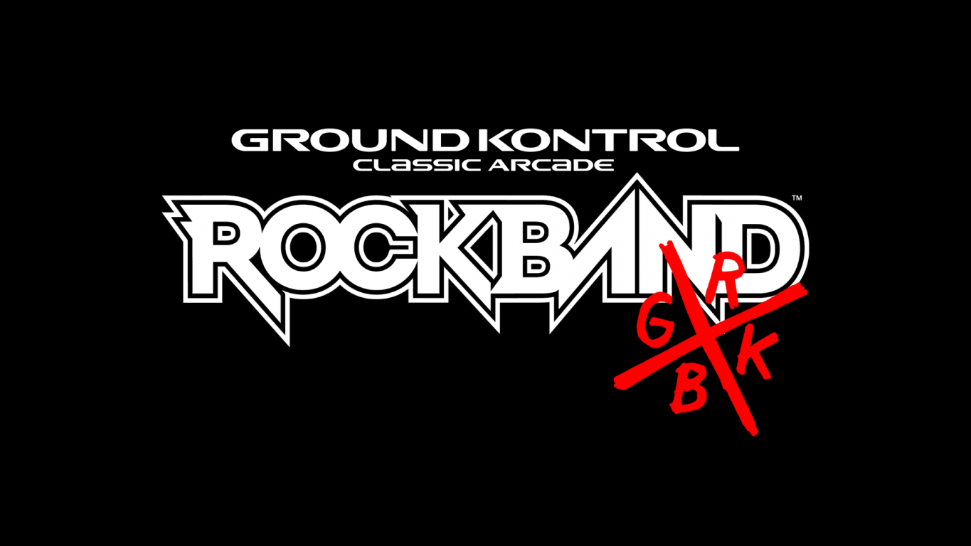Rock Band x Ground Kontrol