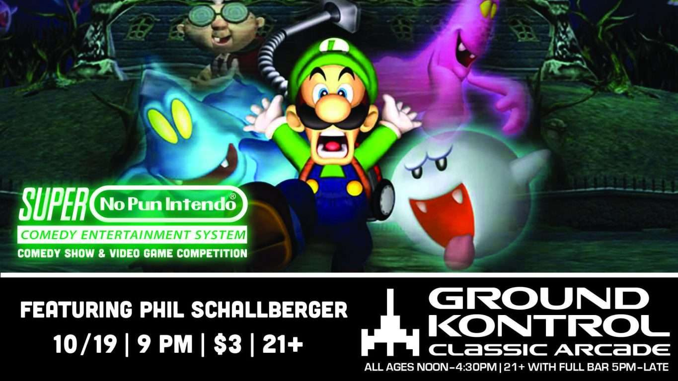 No Pun Intendo - Stand-Up Comedy Night featuring Phil Schallberger!