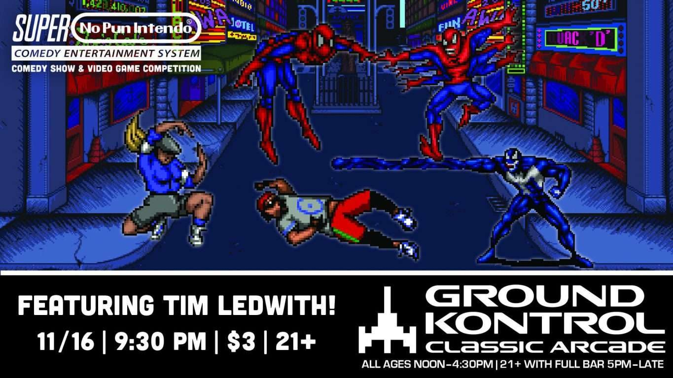 No Pun Intendo - Stand-Up Comedy Night featuring Tim Ledwith!