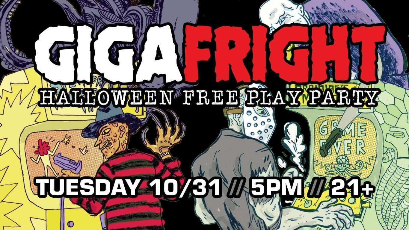 Giga-Fright: Halloween Free Play Party & Costume Contest