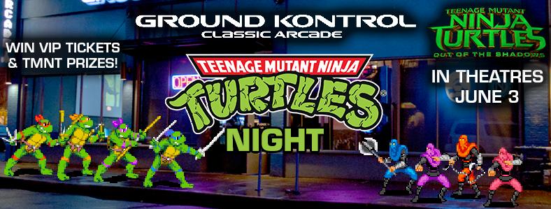 Teenage Mutant Ninja Turtles Night – Monday 5/30, 9:30pm