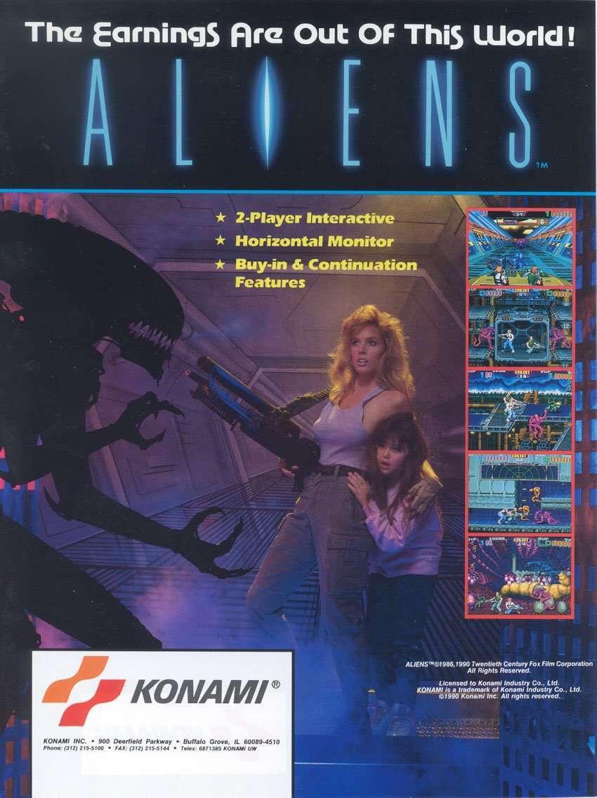New in the Arcade: Aliens (1990) & Aliens: Extermination (2006)