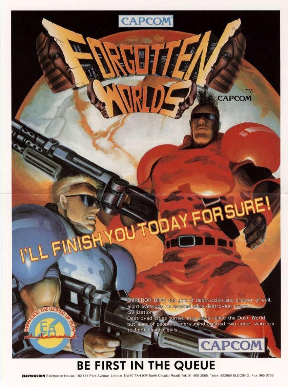 Raiders of the Lost Arcade: Forgotten Worlds