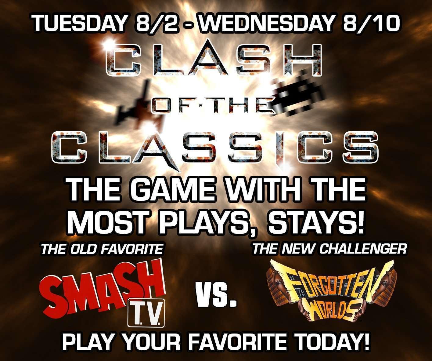 Clash of the Classics: Smash TV VS Forgotten Worlds