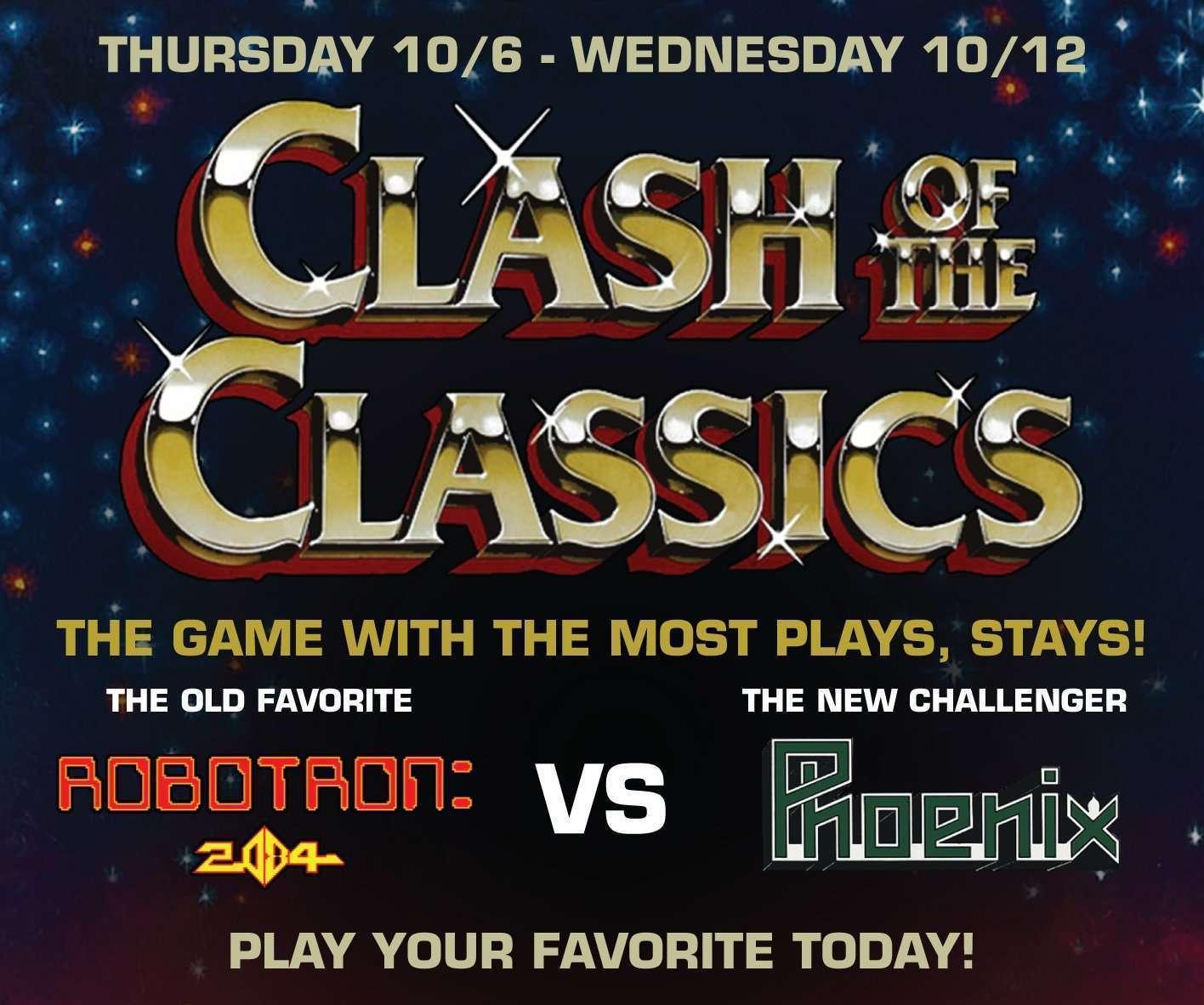 Clash of the Classics: Robotron: 2084 VS Phoenix
