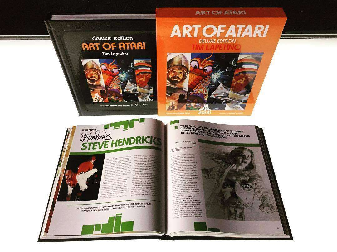 Available Now: Art of Atari Deluxe Edition (Signed!)