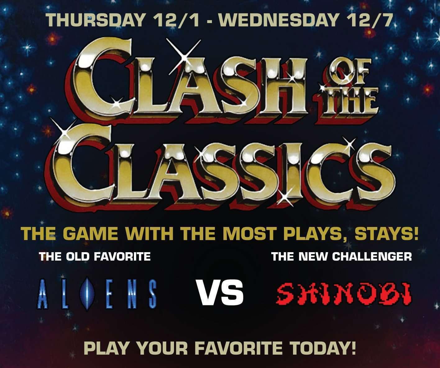 Clash of the Classics – Aliens VS Shinobi