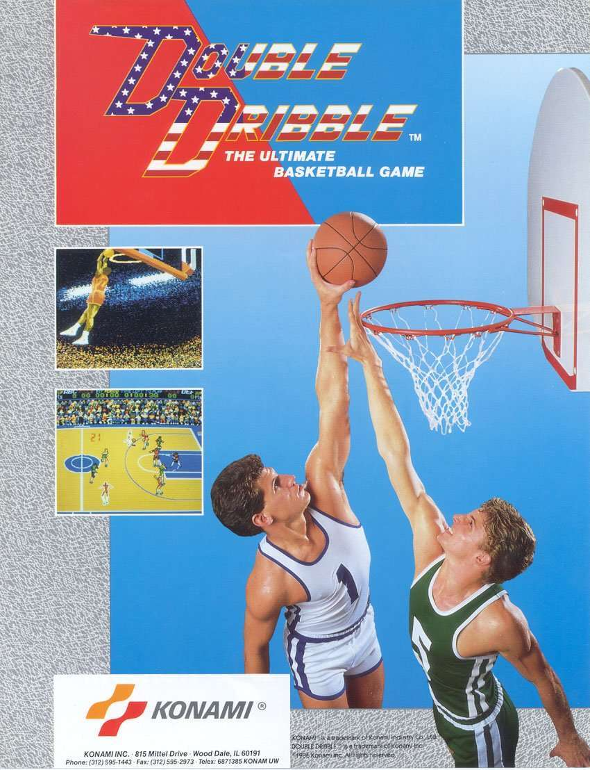 Raiders of the Lost Arcade: Double Dribble
