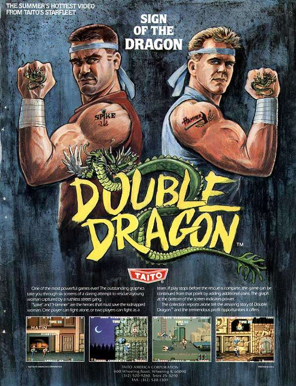 Raiders of the Lost Arcade: Double Dragon