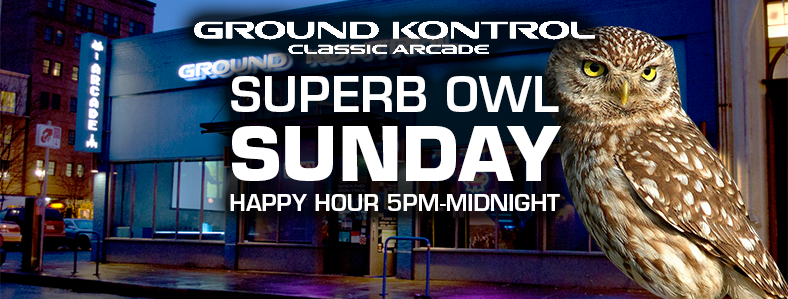 Superb Owl Sunday: Sports-Free Happy Hour All Night! Sunday 2/5, 5pm