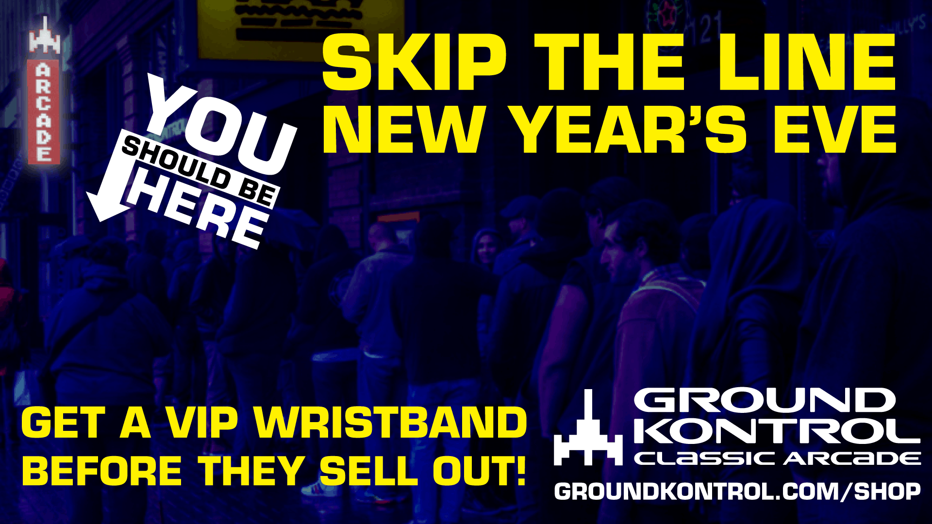 Now Available: New Year's Eve 2019 VIP Wristbands – While They Last!