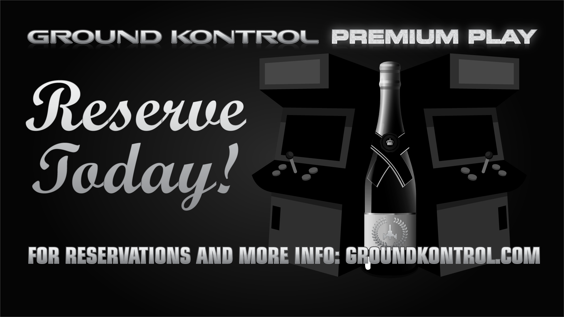 Introducing Ground Kontrol Premium Play!