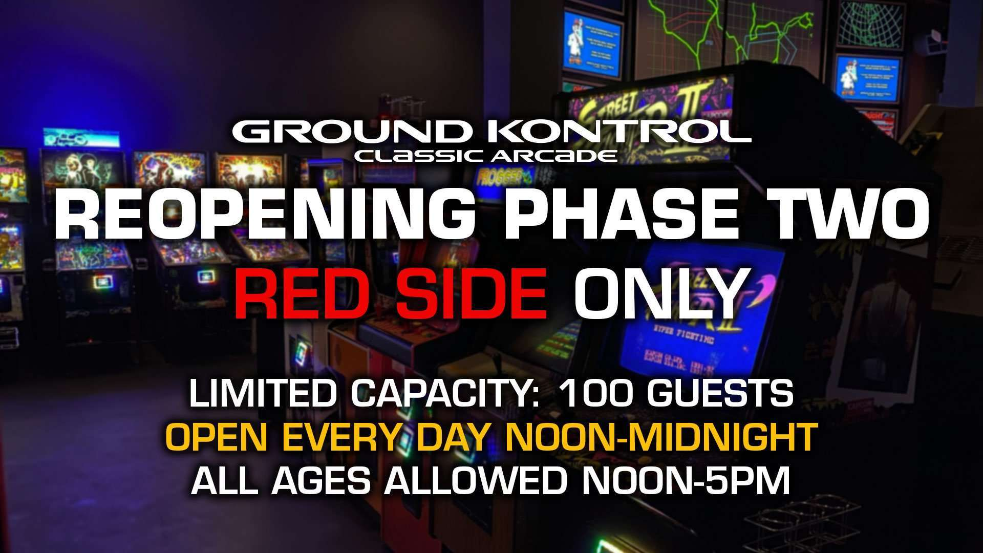Phase Two Reopening Information